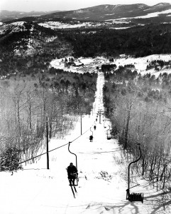 The first chairlift in the Eastern U.S.