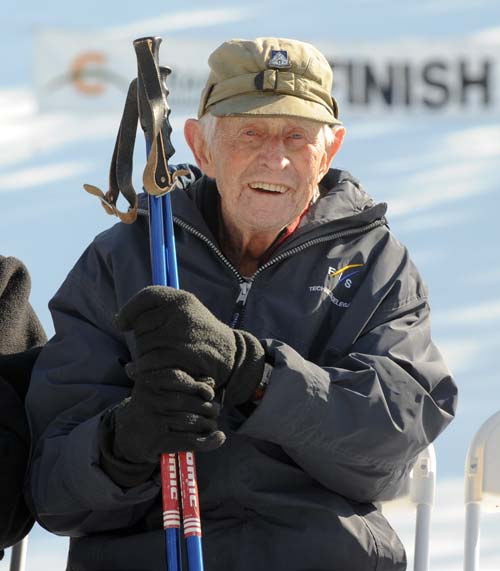 10th Mountain Division veteran Nelson Bennett of Yakima, WA has attended all Meister Cup events.