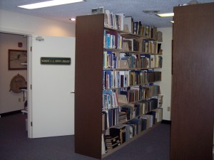 Inside the Robert Irwin Library