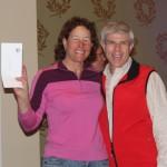 2013 women's half marathon winner Joann Hanowski