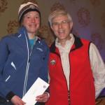 2013 women's marathon winner Robyn Anderson