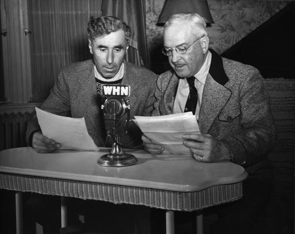 Hannes Schneider and Harvey Dow Gibson