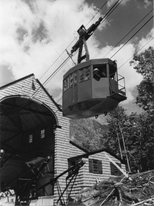 The Cannon Mountain Aerial Tramway opened on June 28, 1938.