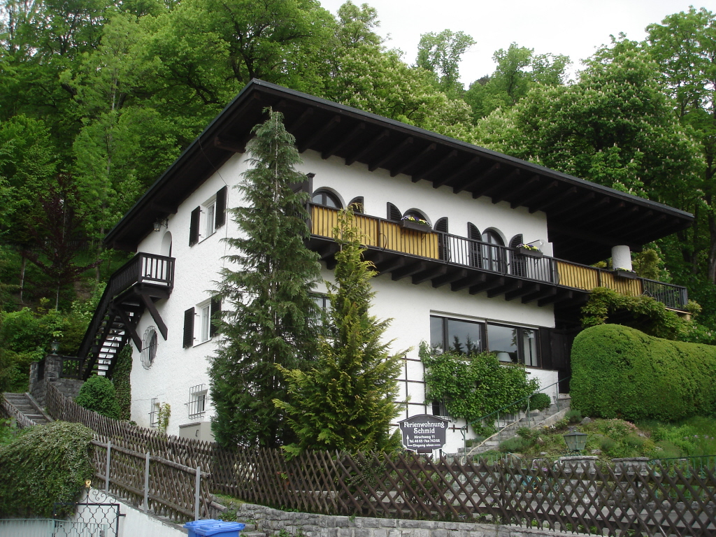 The house in Garmisch-Partenkirchen, Germany where Hannes Schneider was kept under the custody of Dr. Karl Rösen in 1938 before he was allowed to relocate to North Conway. E. John B. Allen