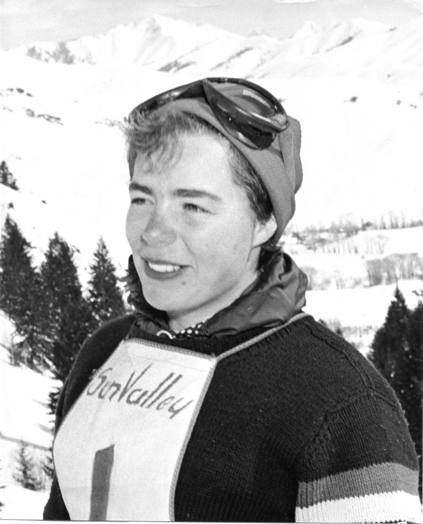 Kennett High School valedictorian Imogen Opton placed fifth in the slalom in the 1952 Winter Olympic Games.