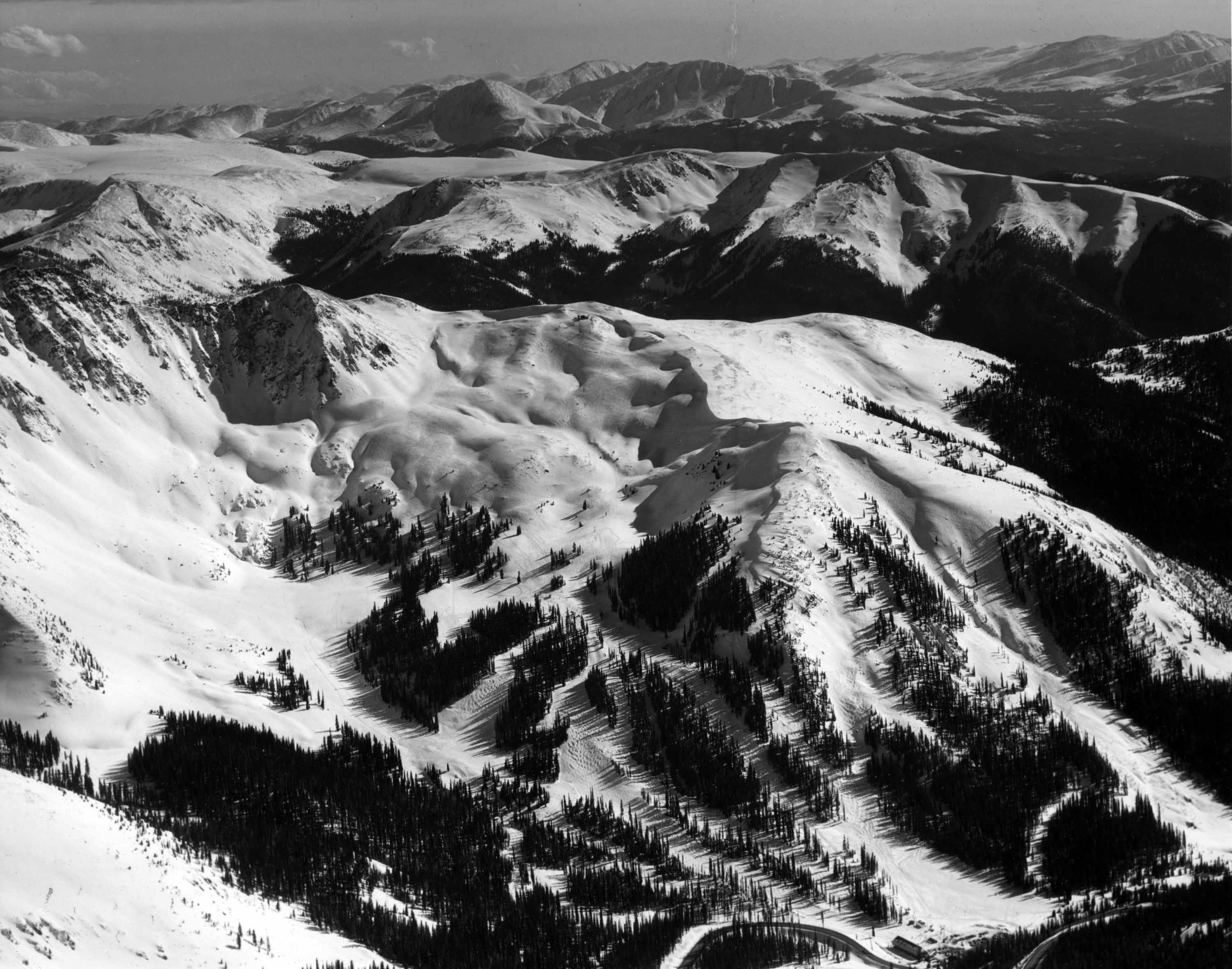 Arapahoe Basin, Colorado. Courtesy of Denver Public Library