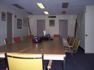 The board room in the Paumgarten Building